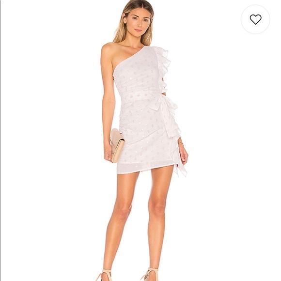 Lovers + Friends Dresses & Skirts - Lovers & Friends One Shoulder Whitney Mini Dress